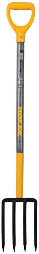 True Temper 2812200 4-Tine Spading Digging Fork with 30 in. Hardwood D-Grip...