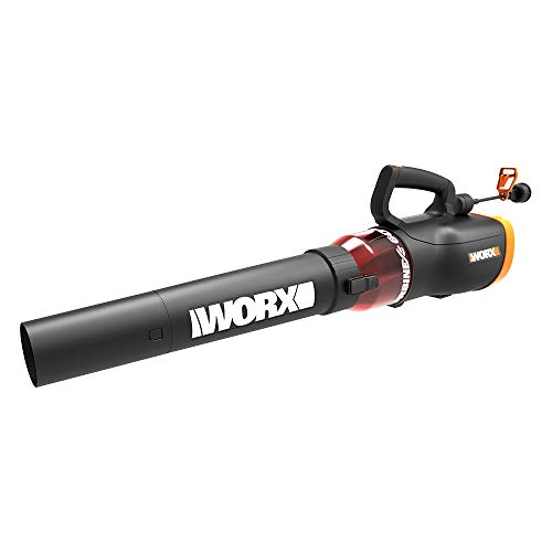 WORX WG520 TURBINE 600 12 Amp Electric Leaf Blower with Variable-Speed...