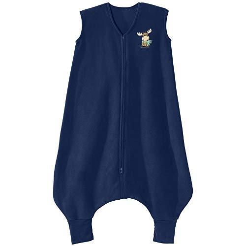 HALO Big Kids Sleepsack Micro Fleece Wearable Blanket, TOG 1.0, Blue Moose,...