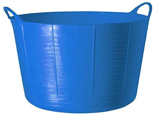 TubTrugs SP75BL X-Large Blue Flex Tub, 75 Liter