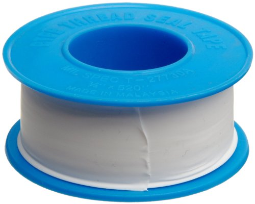 Dixon Valve TTB75 PTFE Industrial Sealant Tape, -212 to 500 Degree F...