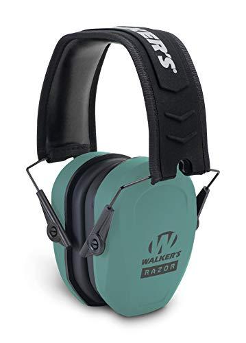 Walker's Game Ear Razor Passive - Teal (GWP-RSMPAS-TL)