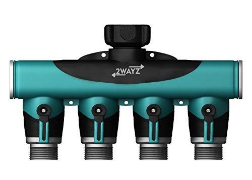 2wayz 4 Way Heavy Duty Hose Splitter. The Connector that Will Split, Split,...
