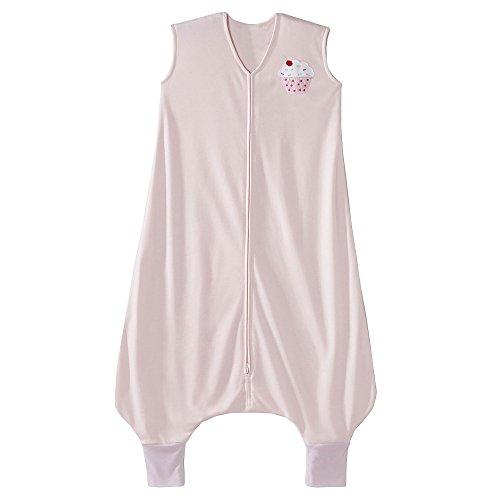 HALO Big Kids Sleepsack Lightweight Knit Wearable Blanket, TOG 0.5, Pink,...