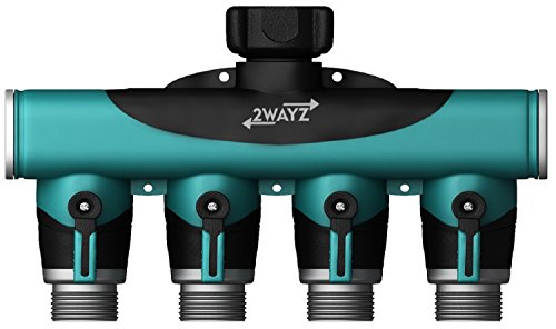 2wayz 4 Way Heavy Duty Hose Splitter. The Connector that Will Split, Split,...