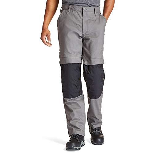 Timberland PRO Men's Bender Utility Work Pant, pewter, 36/34