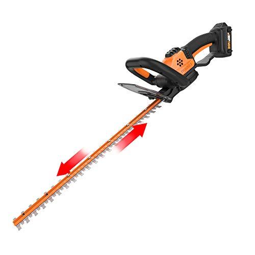 "WORX WG261 20V Power Share 22"" Cordless Hedge Trimmer"