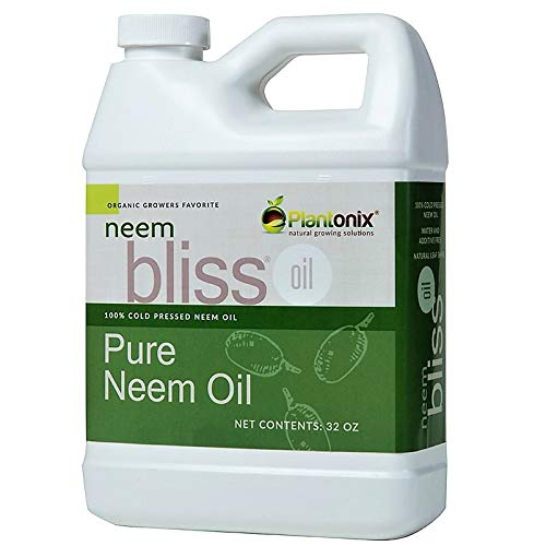 Organic Neem Bliss 100% Pure Cold Pressed Neem Seed Oil 32 oz - OMRI Listed...