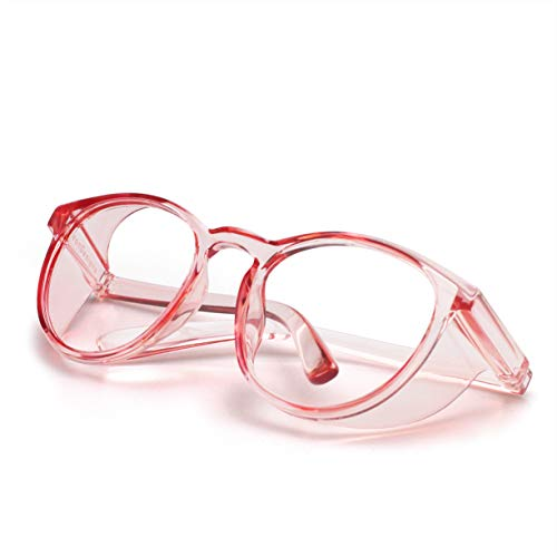 LeonDesigns Stylish Round Safety Glasses Anti-Fog Women | Fashion Eye...