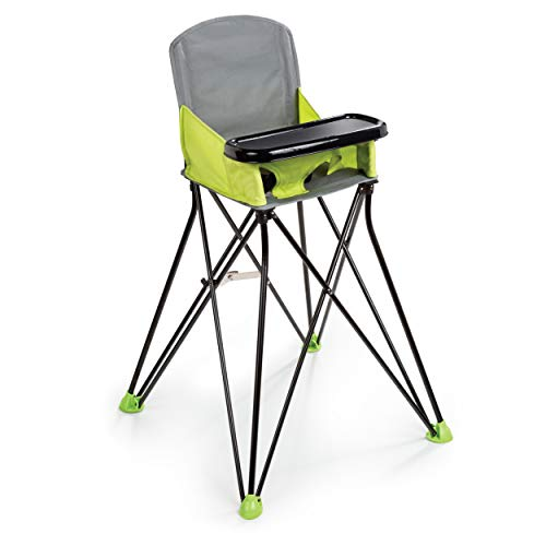 Summer Pop 'n Sit Portable Highchair, Green - Portable Highchair For...