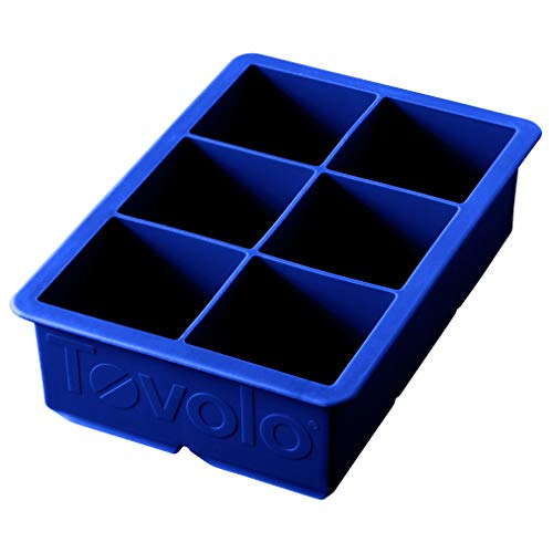 Tovolo Inch Large King Craft Ice Mold Freezer Tray of 2' Cubes for Whiskey,...