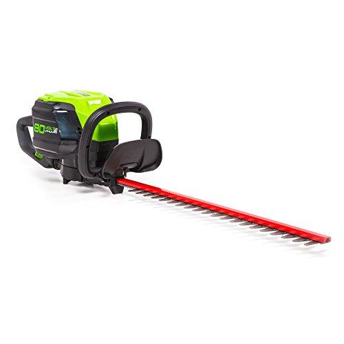 Greenworks Pro 80V 24-Inch Brushless Hedge Trimmer, Battery Not Included...