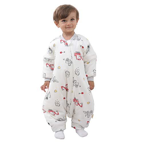 Mosebears Baby Winter Sleeping Bag with Legs, Baby Sleep Sack for Toddler...