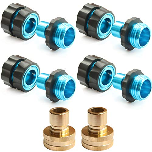 PLG Garden Hose Quick Connect Fittings Male and Female Hose Quick...