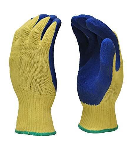 G & F 1607L Cut Resistant Work Gloves, 100-Percent Kevlar Knit Work Gloves,...