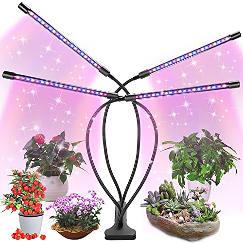 LED Grow Light for Indoor Plant, Fauna Auto ON/Off Timer Full Spectrum...