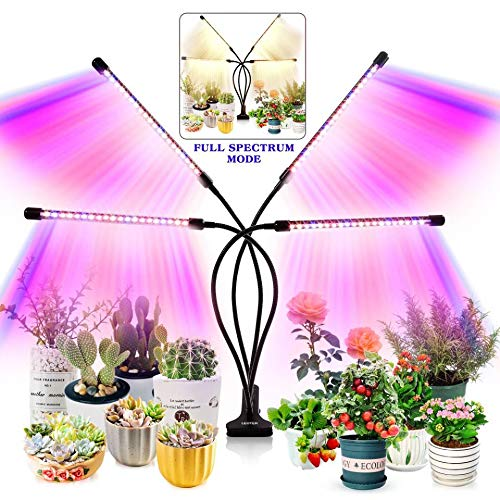 Grow Light for Indoor Plants - Upgraded Version 80 LED Lamps with Full...