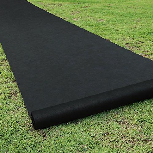 Becko Garden Weed Barrier Landscape Fabric, 80g Heavy Duty Foldable...