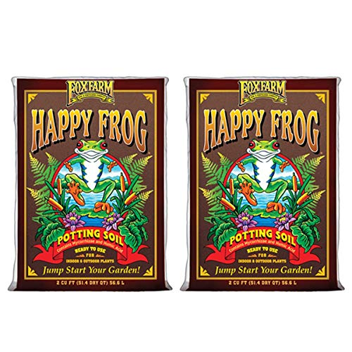 Fox Farm FX14047-2PK FOXFARM FX14047 pH Adjusted Happy Frog Organic Bags 2...