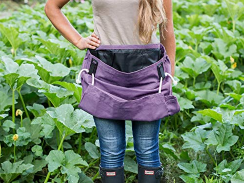 Roo Garden Apron - The Joey - Gardening, Work and Harvesting Tool Belt with...