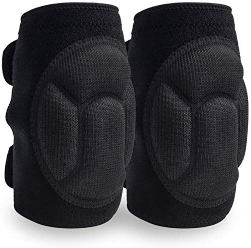 JYSW Knee Pads Comfortable Non-Slip, Thick Extra Foam Cushion for Scrubbing...
