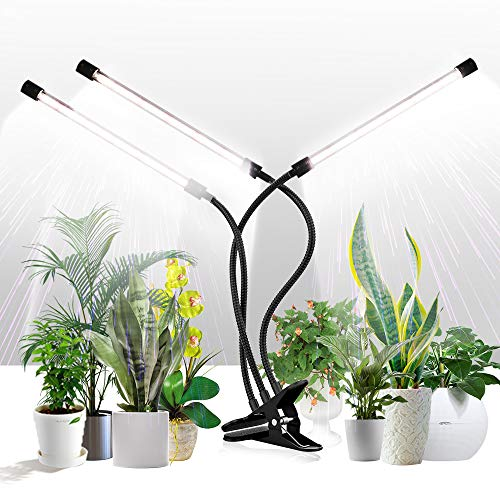 Grow Light for Indoor Plants,GHodec Tri-Head 75W 126LED Plant Lights for...