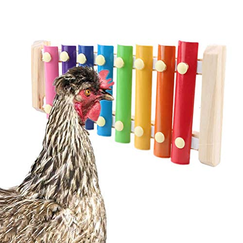 pranovo Chicken Toys Hen Pecking Toy Decorative Xylophone Toy with...