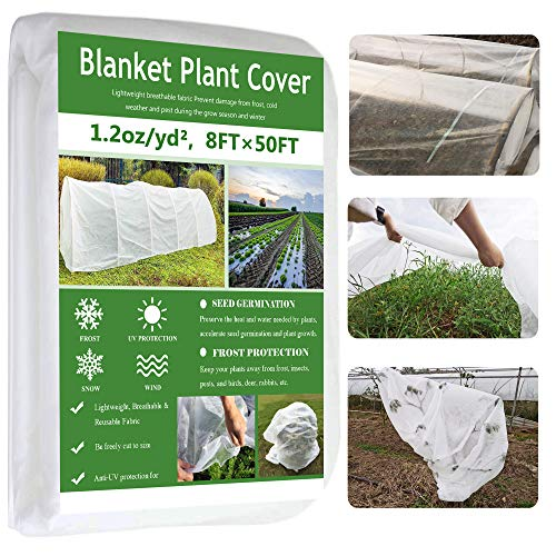 Garden EXPERT Plant Covers Freeze Protection Floating Row Cover Thickened...