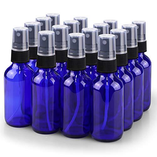 Spray Bottle, Wedama 2oz Fine Mist Glass Spray Bottle, Little Refillable...