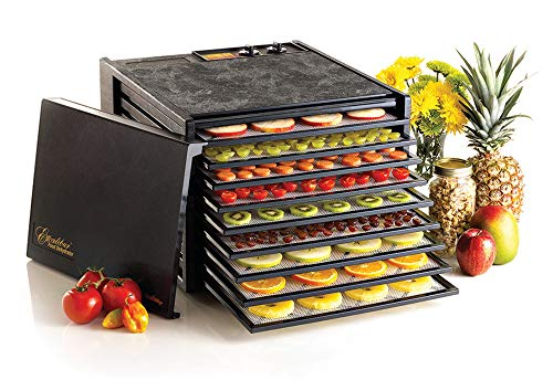 Excalibur 9-Tray Electric Food Temperature Settings and 26-hour Timer...