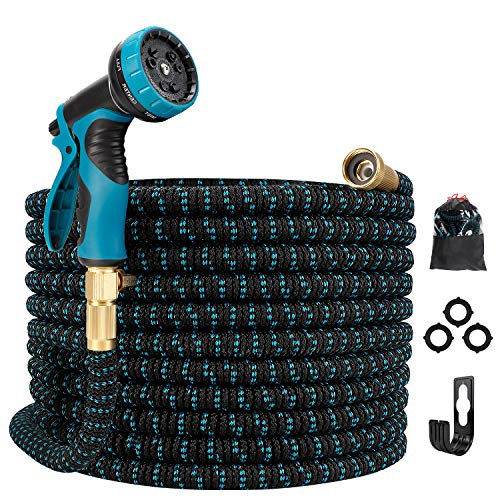 Gpeng Expandable Garden Hose, Water Collapsible Hose with 9 Function Spray...