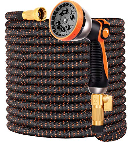 Garden Hose Flexible Upgraded Expandable Garden Water Hose-Super Durable...